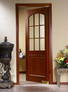 Puertas cl set y cocinas en madera puertas para cocinas - Puertas de madera para cocinas ...