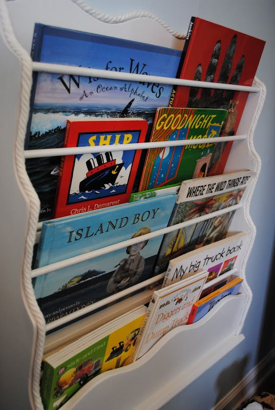 Really Reusable Pottery Barn Inspired Bookrack With