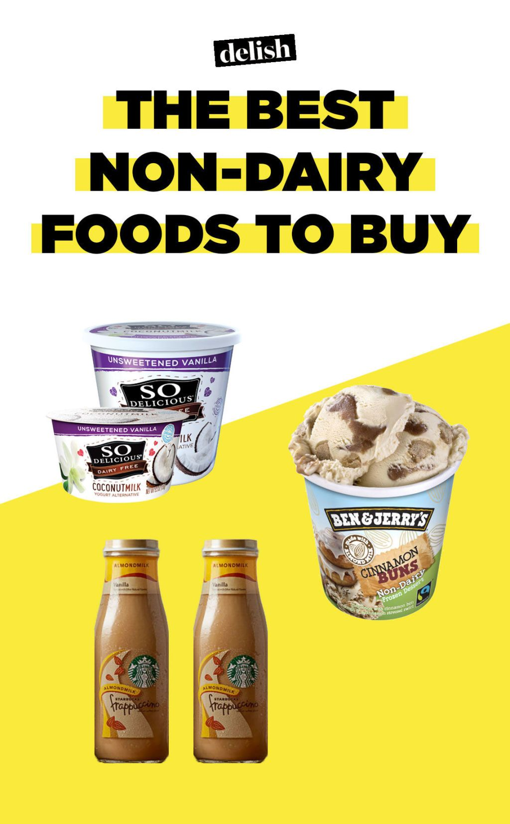 13 Non-Dairy Foods Actually Worth Buying