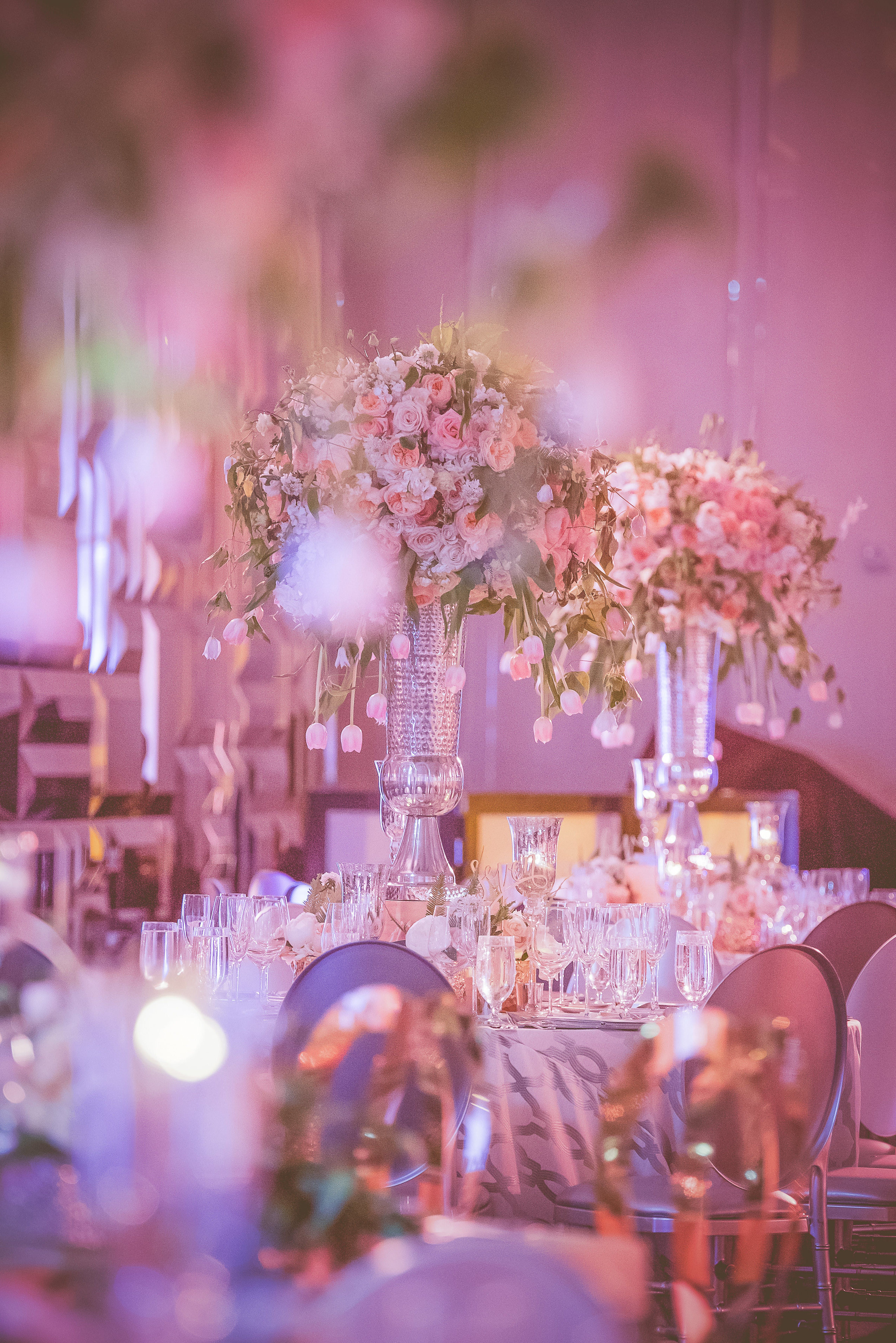 Romantic St Regis Bal Harbour Wedding Party Rentals And Decor By Gilded Group Decor Miami Event De Wedding Decorations Event Decor Floral Wedding