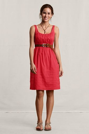 ce36386f468 Women s Sleeveless Empire Waist Dress from Land s End Canvas line.  69.50