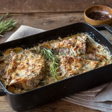 Photo of Under the cheese blanket: Baked cutlet with potatoes