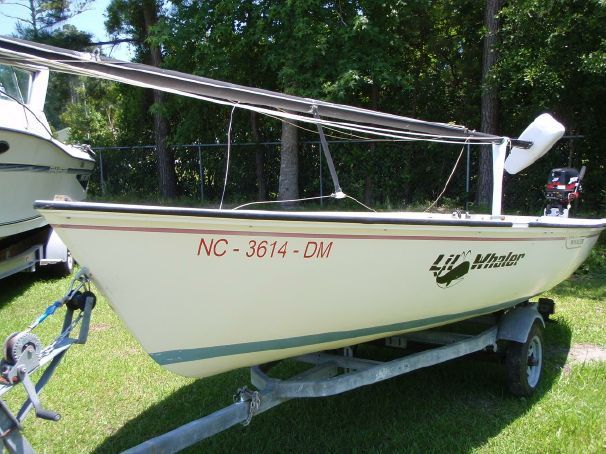 1981 Boston Whaler Harpoon 5 2 Sail Boat For Sale - www