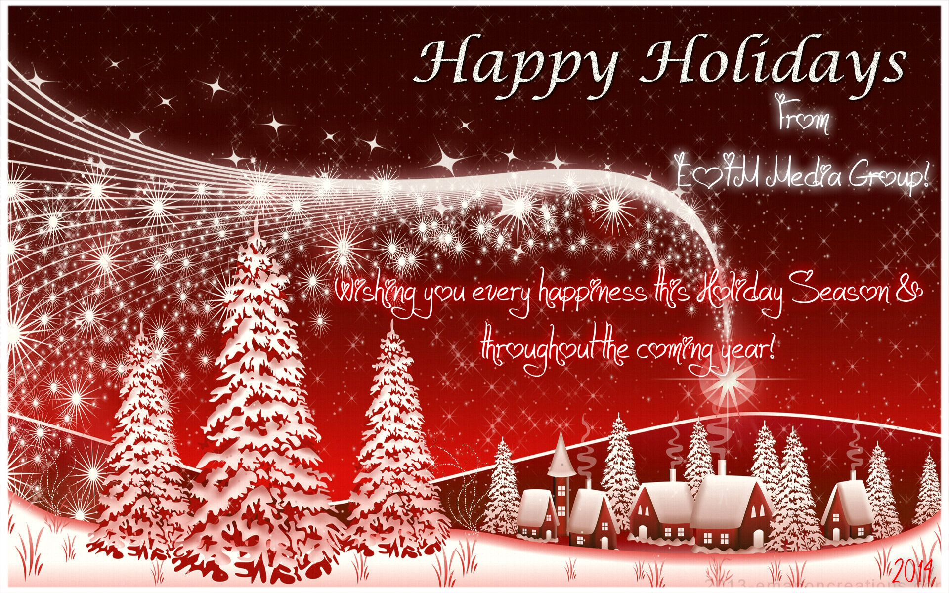 Wishing You A Happy Holiday And A Joyful New Year Best Wishes From
