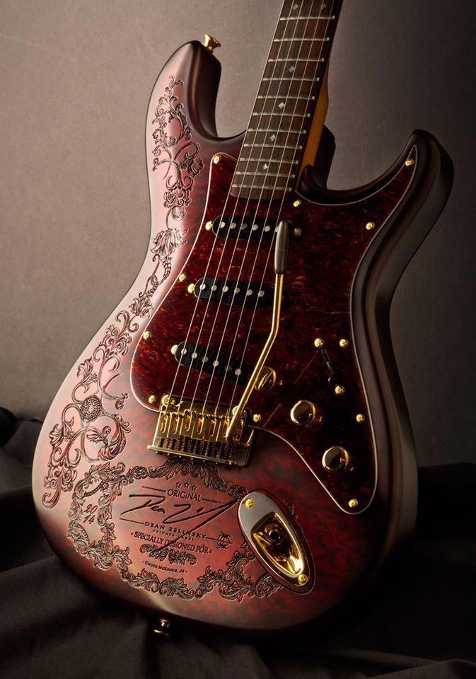Dean Zelinsky Private Label Guitars #customguitars