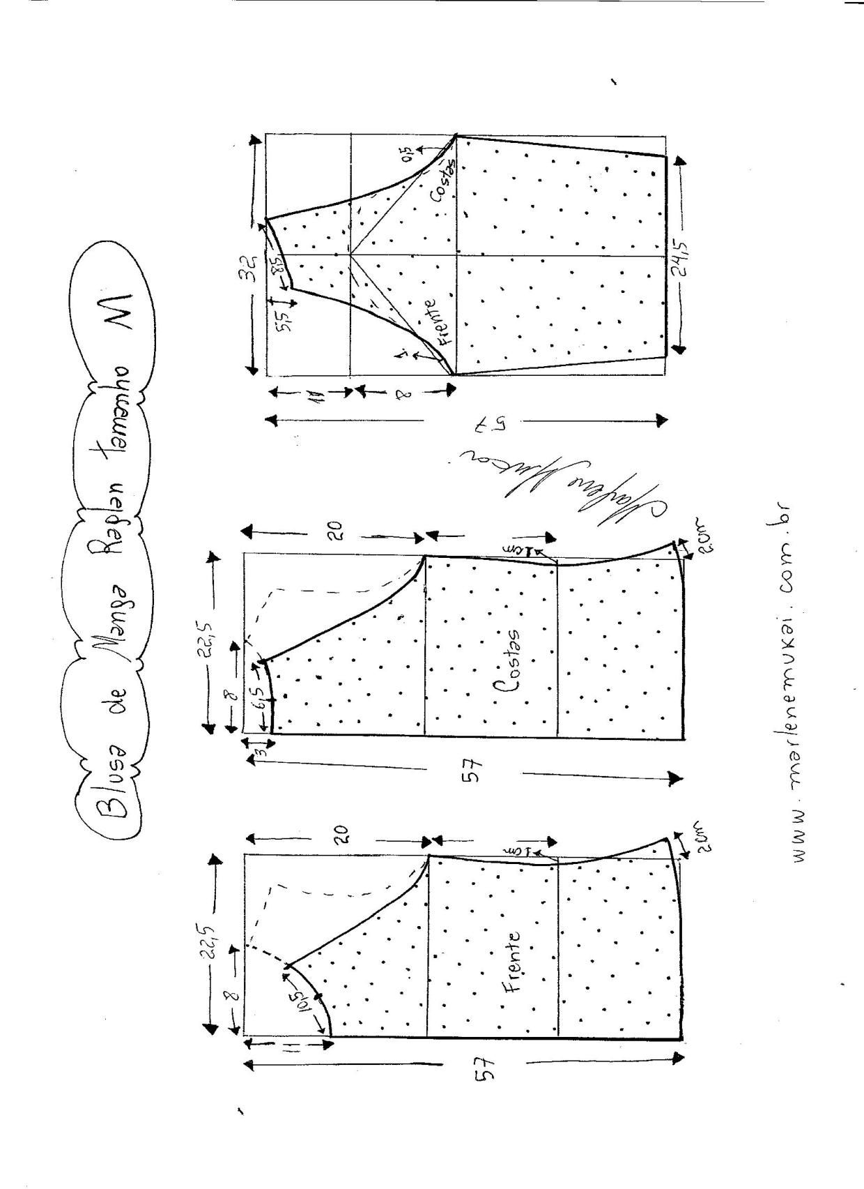 Blusa de malha com manga raglan | Dicas de costura | Pinterest