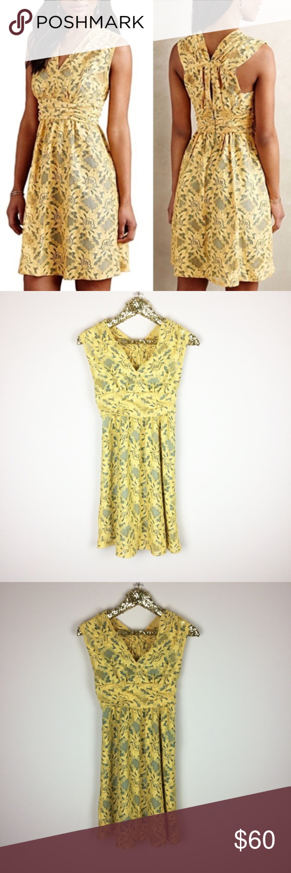 """352e5c00e5 Anthropologie Plenty by Tracy Reese Lace Dress NEW Plenty by Tracy Reese """" Niki"""" sleeveless dress from Anthropologie. New without tags Size 0 36 inch  length ..."""