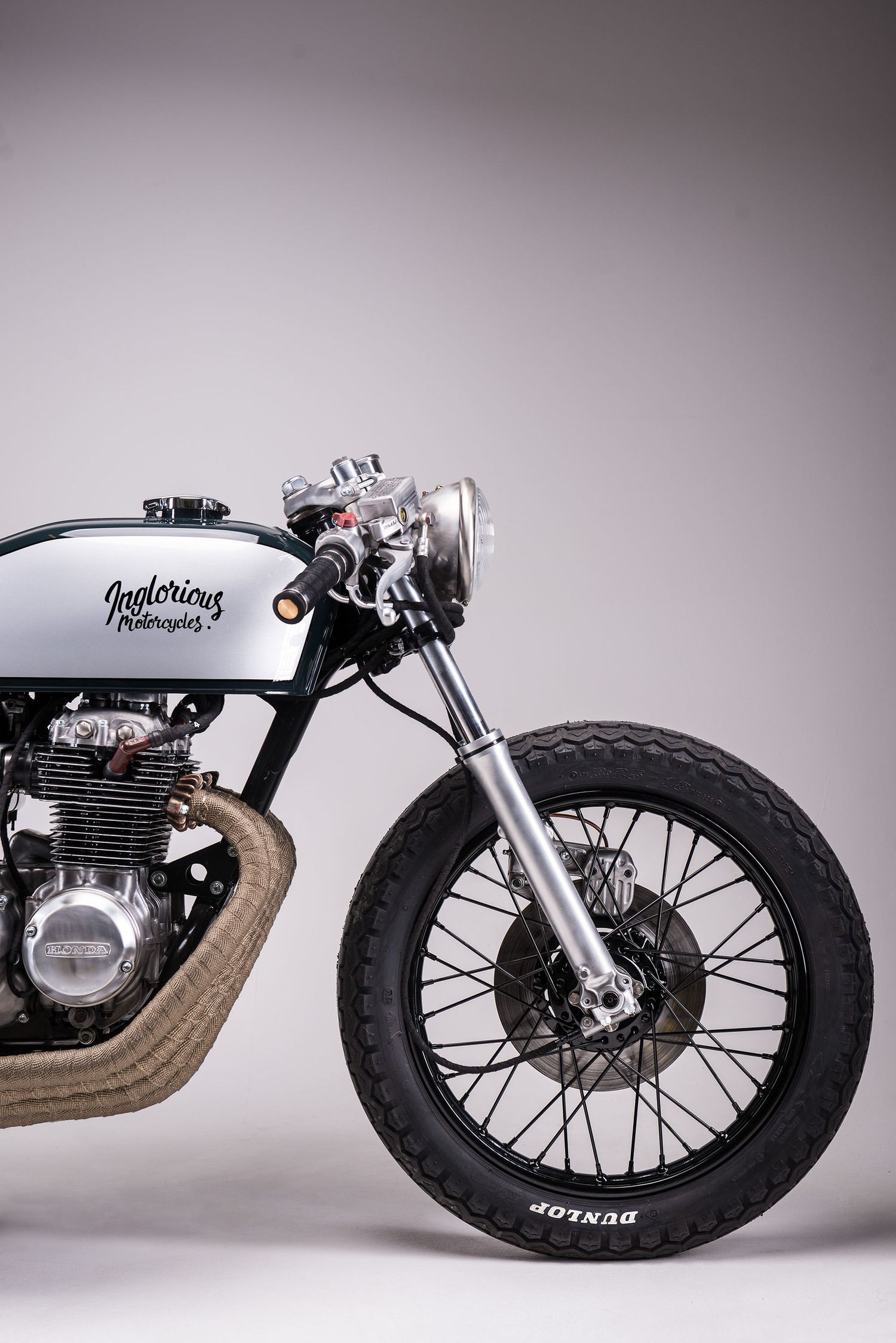 Inglorious Motorcycles CB400 13