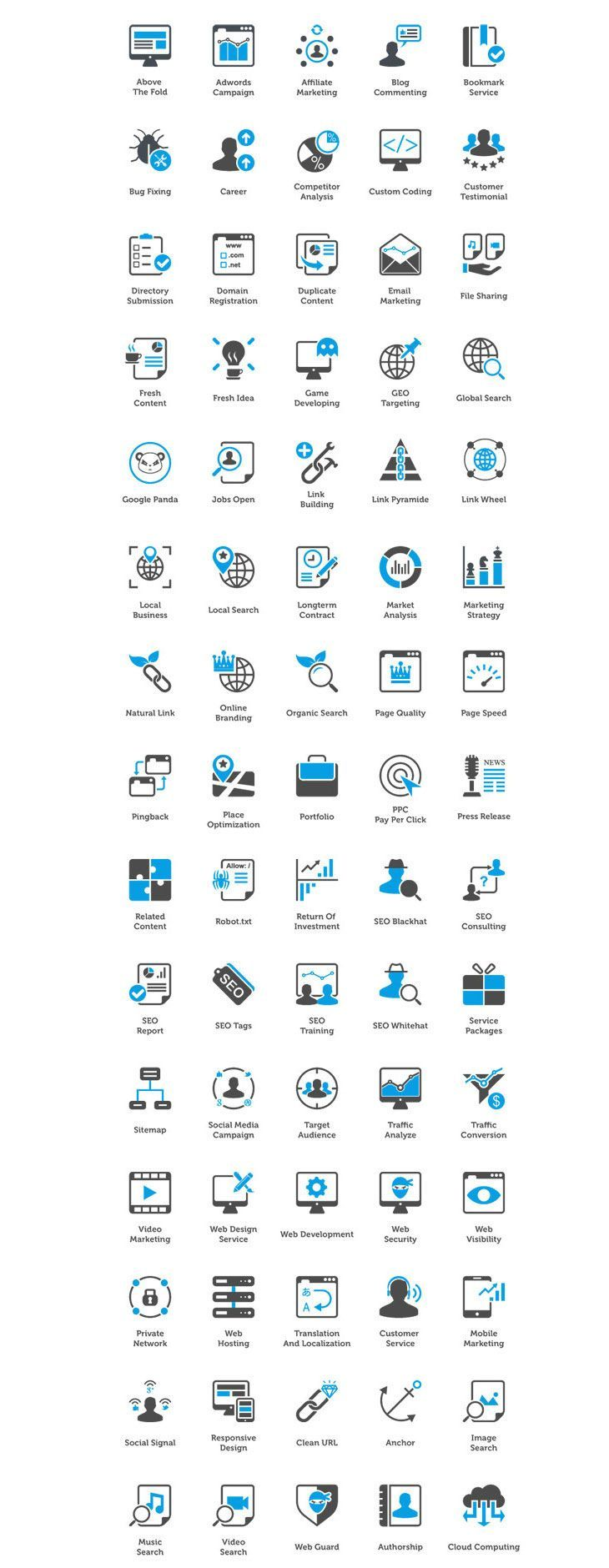 Latest Free Icon Sets Marketing icon
