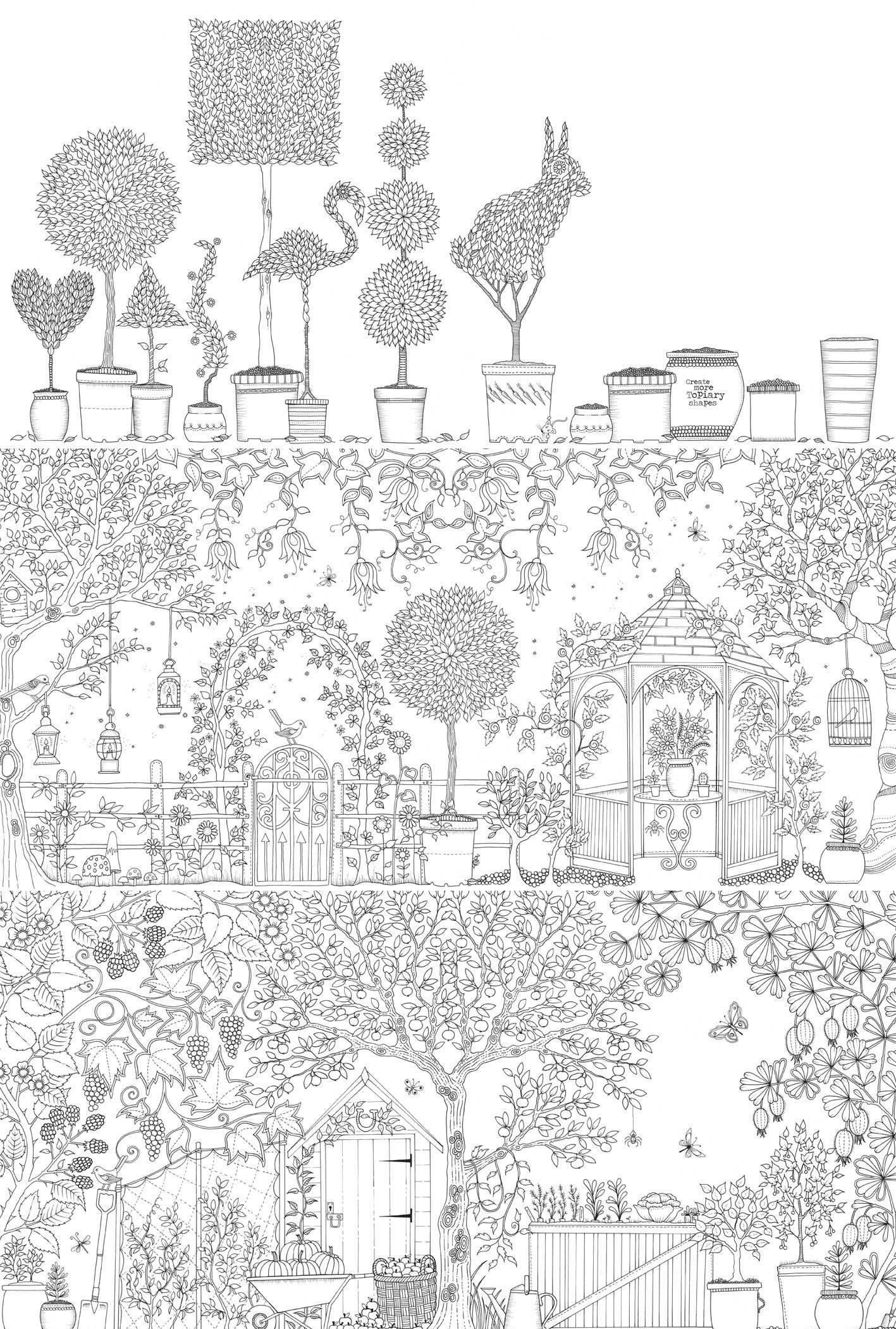 - Books - Secret Garden Adult Coloring Book Secret Garden Coloring