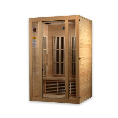 Dynamic Infrared 2 Person Far Infrared Sauna Sauna Infrared Sauna Hot Tubs Saunas