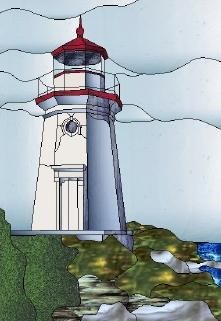 Stained Glass Lighthouse Patterns Guiding Light From The Book Quot 20 Pieces Or Less Quot By Laur
