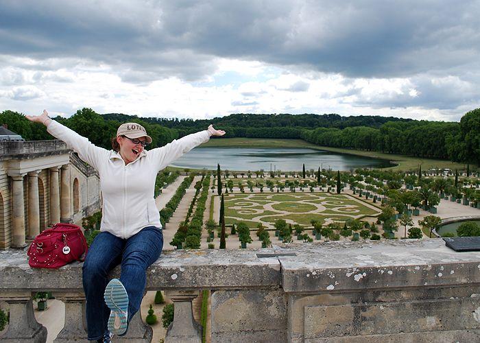 Pink Belle in Versailles