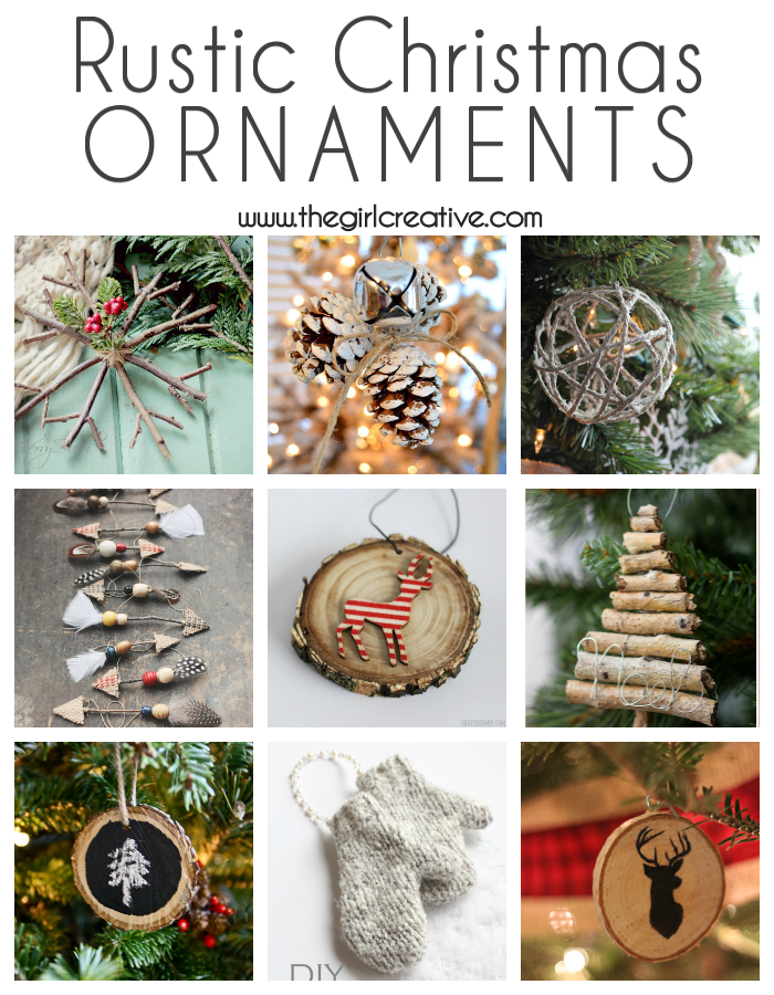 DIY Rustic Christmas Ornaments | Best of Pinterest | Pinterest ...