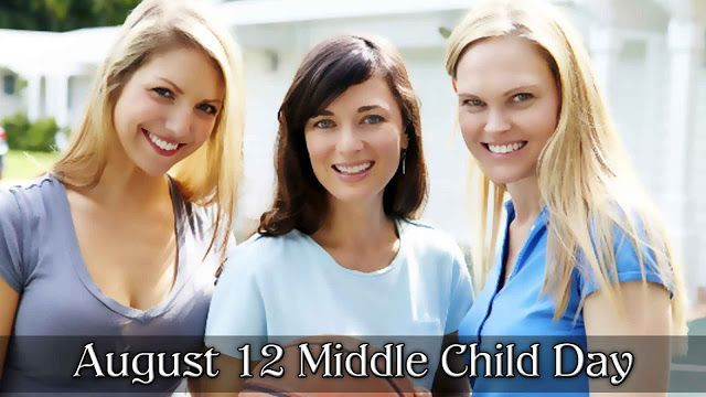 August 12 Middle Child Day #middlechildhumor August 12 Middle Child Day #middlechildhumor