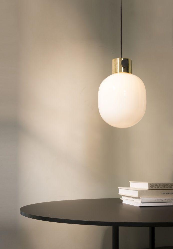 Menu jwda metallic pendant lamp by jonas wagell