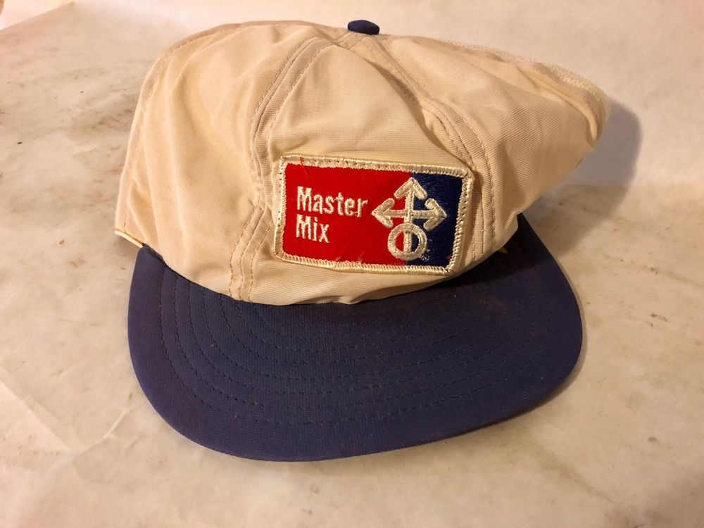 0275a7d035b46 Vintage Master Mix Feed Seed Kansas Oil Gas Snapback Foam Trucker Hat Cap  Retro  fashion  clothing  shoes  accessories  mensaccessories  hats (ebay  link)