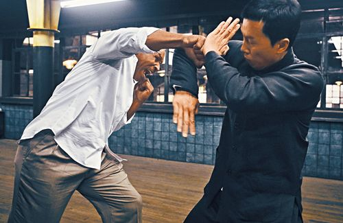 Donnie Yen Almost Got Ko D By Mike Tyson Kung Fu Martial Arts Donnie Yen Martial Arts