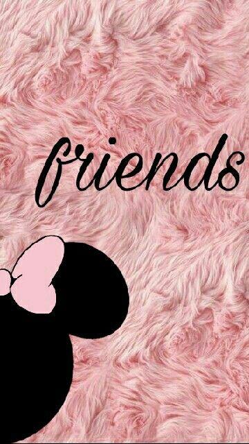 Minnie Wallpaper Bff Backgrounds Pinterest Friends Wallpaper