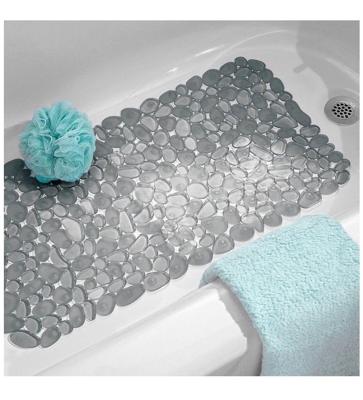 Wonderful Non Slip Suction Mat For Bathtub Home Bathmat Shower Bathroom Decor Tub  Dorm #InterDesign