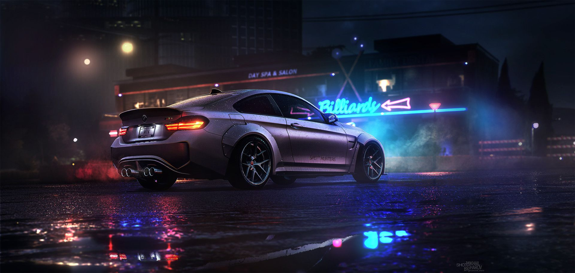 Artstation Need For Speed Mikhail Sharov Bmw Bmw Coupe Need For Speed