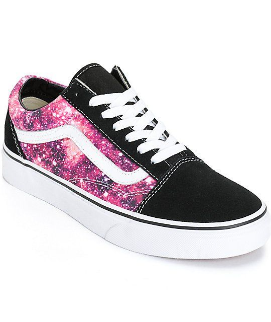 cosmic galaxy shoes