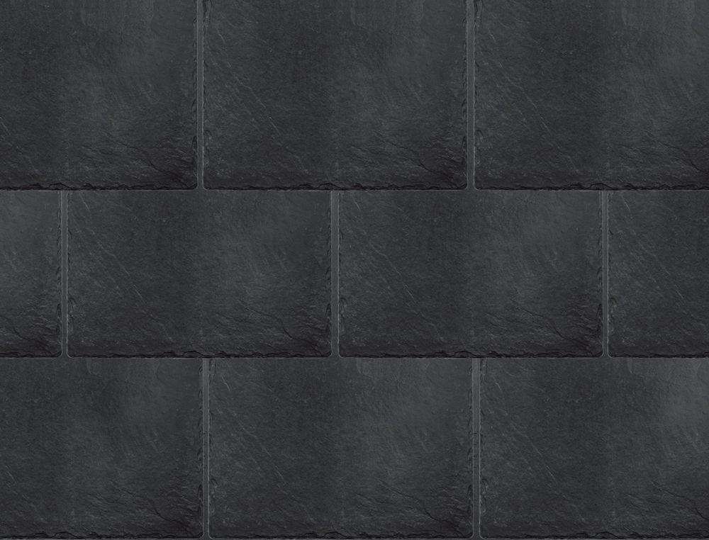 Inspire Synthetic Slate Shingles Classic Slate Charcoal Black Slate Shingles Synthetic Roofing Synthetic Slate
