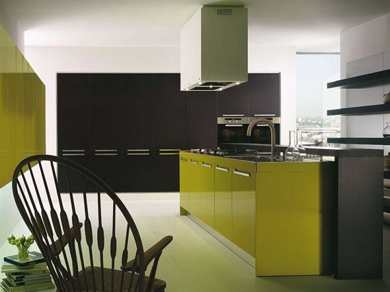 Highlights of modern kitchens from SALVARANI | Kitchen | Pinterest ...