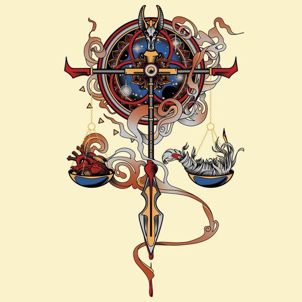Scales Of Anubis Neatoshop Tatuaggi