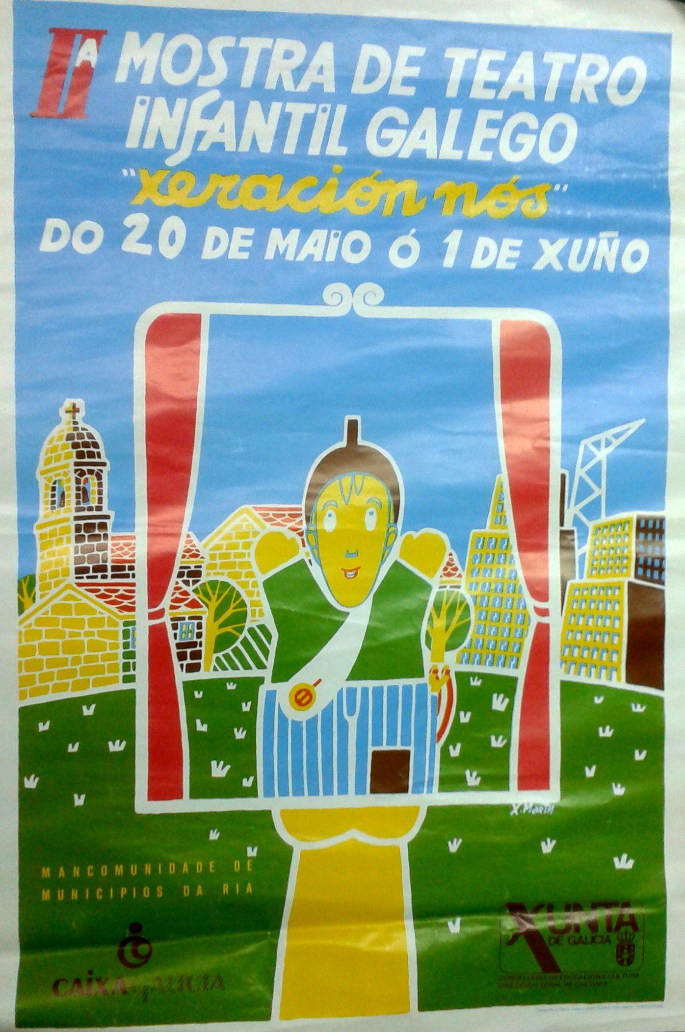 II Mostra de Teatro Infantil Galego. 1985. Xaquín Marín