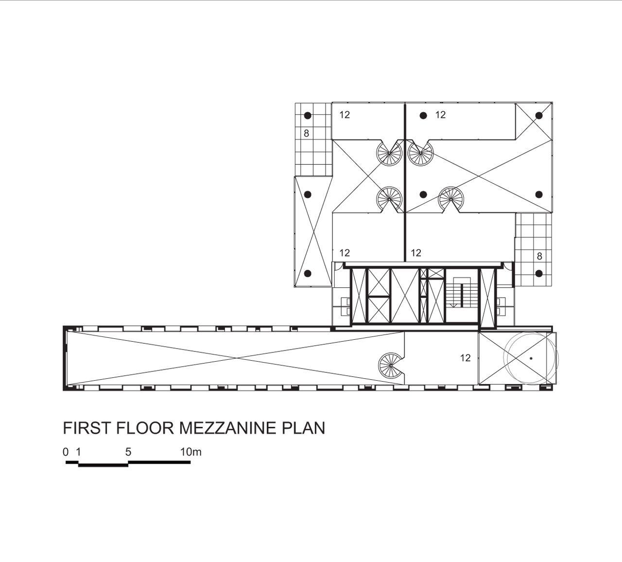 galeria de edificio w305 isay weinfeld 1 explore mezzanine floor plans and more
