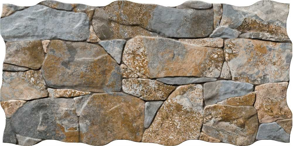 Stacked Rustic Slate Stone Effect Tiles Cusco Dry Wall 640x320x10mm