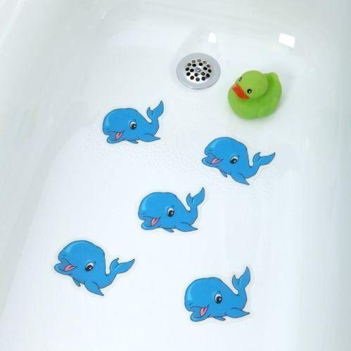 Bathtub Stickers Blue Whale Safety Decals Treads Non Slip Anti Skid Shower Applique Non Slip Bathtub Mats Http Www Amazon Com Dp B00nl Blue Whale Whale Tub
