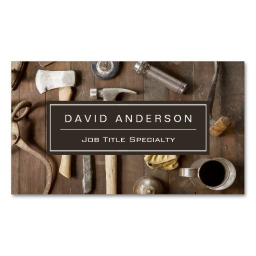 Vintage Rustic Tools Carpenter Handyman Woodworker ...