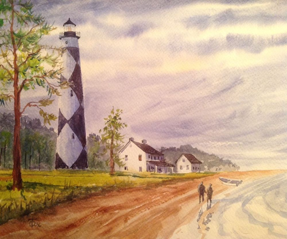 Cape lookout lighthouse north carolina outer banksnew 9 x
