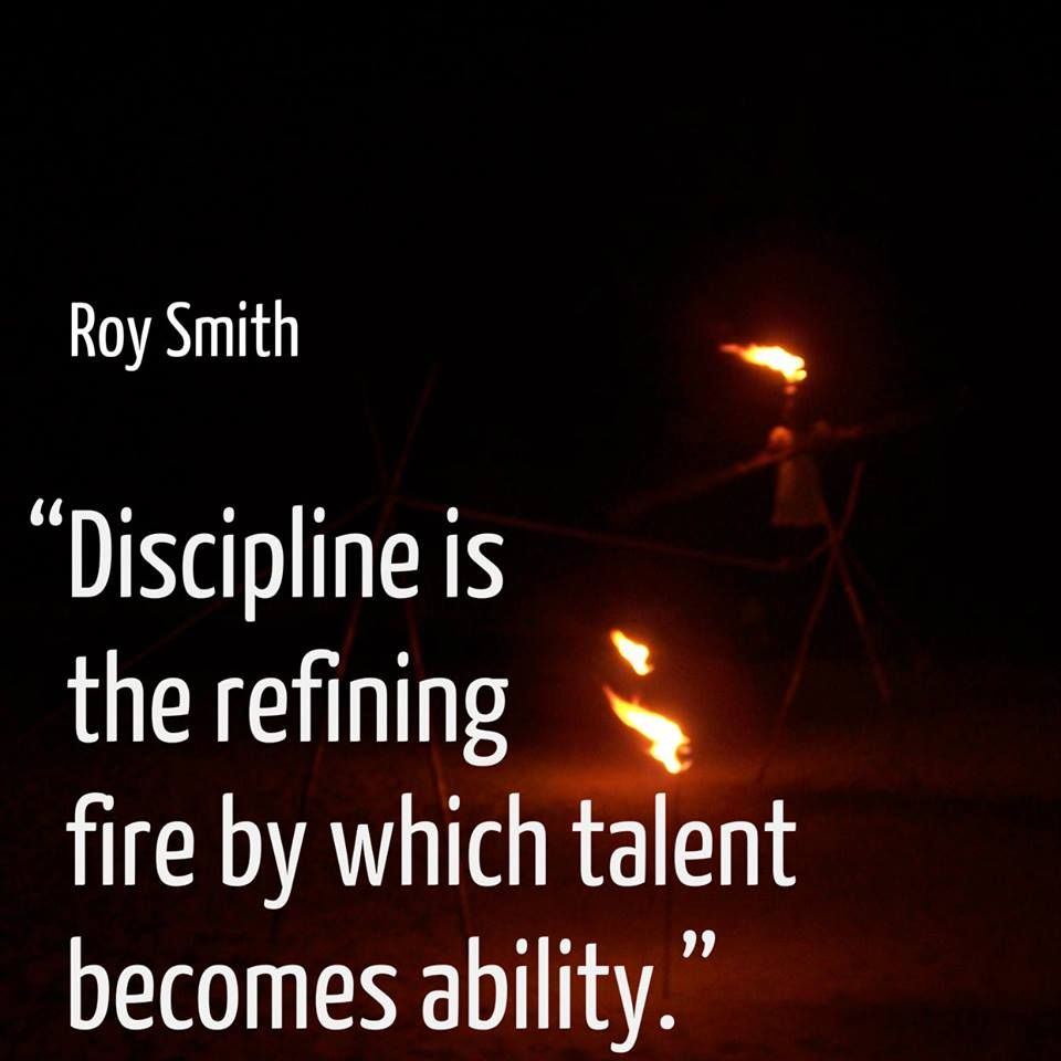 "Temperance Quotes: ""Discipline Is The Refining Fire By Which Talent Becomes"