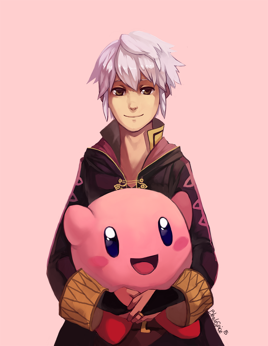 Robin And Kirby by BloodnSpice.deviantart.com on @DeviantArt