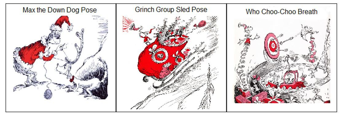 yoga inspired by how the grinch stole christmas by dr seuss i added these 3 yoga cards to my seuss yoga post - How The Grinch Stole Christmas Pdf