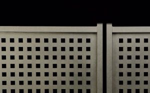 Puertas batientes Nové. #valla, #vallas, #vallado, #vallados, #mallas, #mallas-metalicas, #vallas-jardin y #cerramientos-vallas. Más información en www.rivisa.com