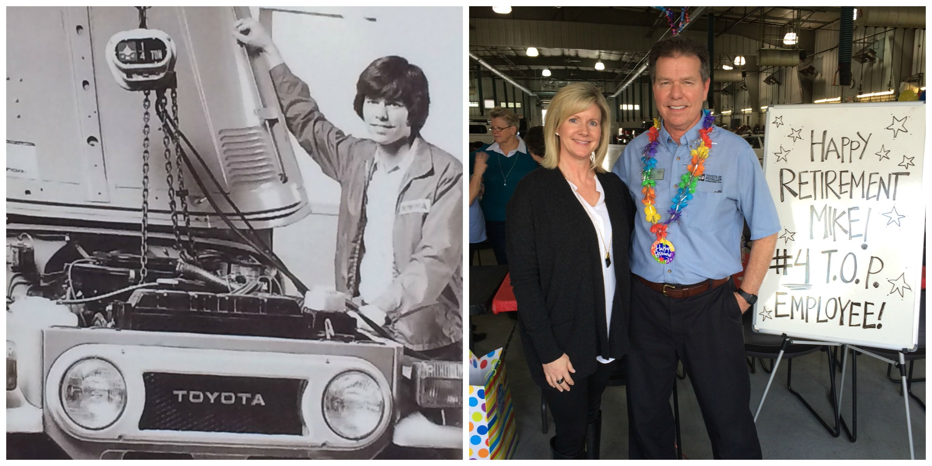 After 40+ Years With Toyota Of Puyallup, Service Advisor Mike Bibeau  Retires Today From