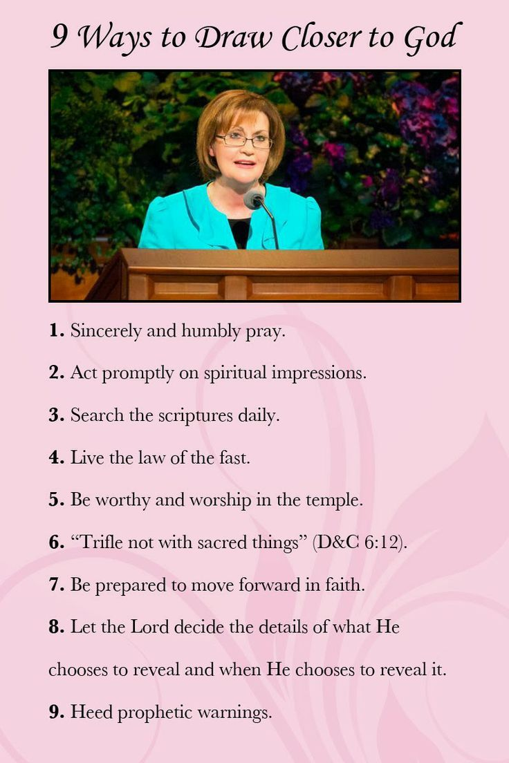 From Sister Linda K. Burton\'s inspiring CES devotional http://lds ...