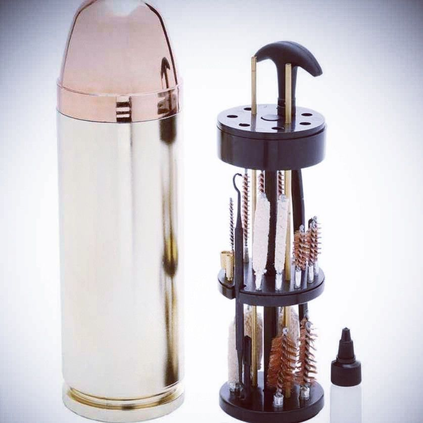 Bullet Shaped Gun Cleaning Kit