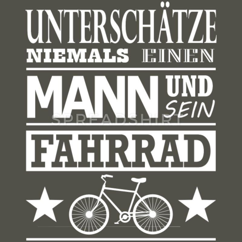 Fahrrad Spruch Manner Vintage T Shirt Vintage Grau Fahrrad