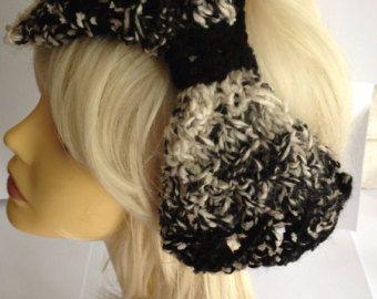Items similar to Fairy Hair Ski Hat with Braided Yarn Falls on Etsy