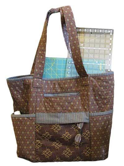 Cindy\'s Monster Tote Sewing Pattern   Sewing   Pinterest   Taschen ...