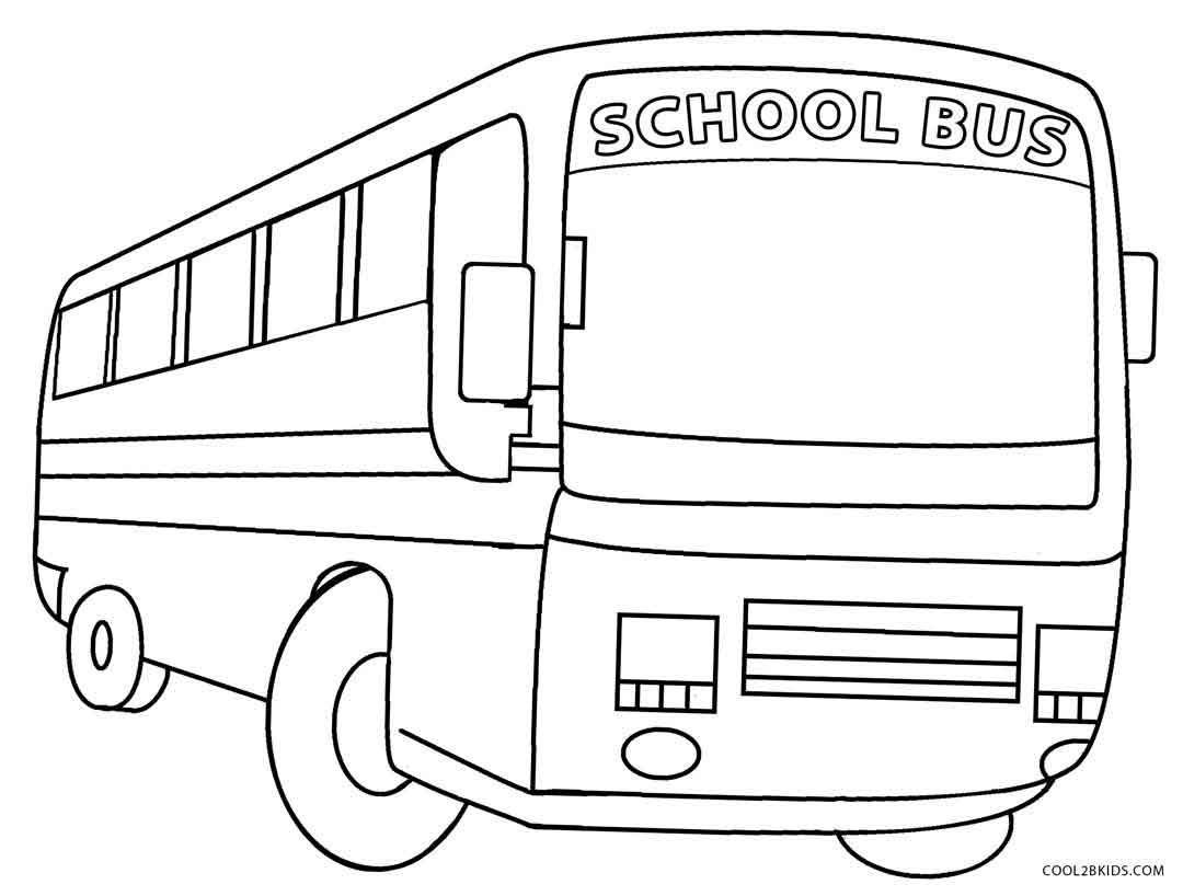 School Bus Coloring Pages School Coloring Pages Coloring Pages