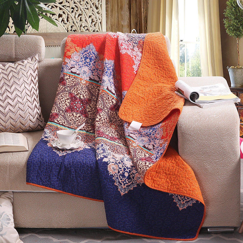 Amazonsmile luxury reversible 100 cotton rich printed