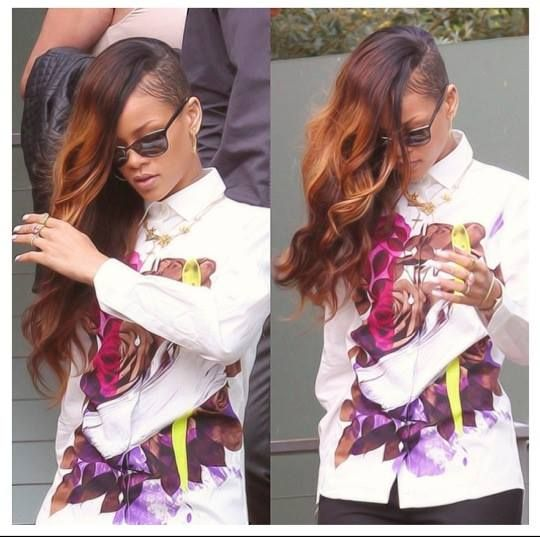 Rihanna hair weave color hair styles maybe pinterest hair rihanna hair weave color pmusecretfo Image collections