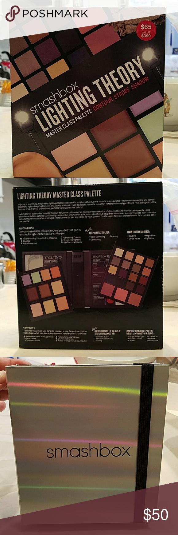 Smashbox Lightning Theory Palette NWT Sephora makeup