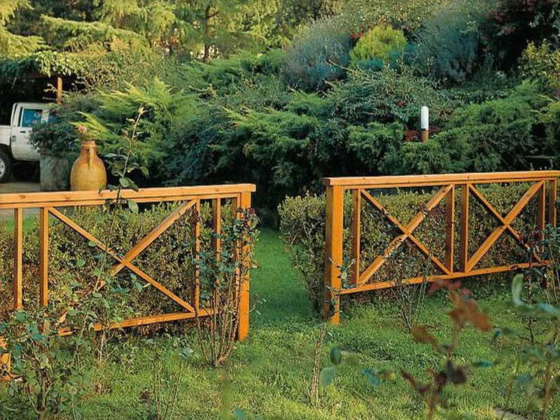 Wood fence designs allow you to mix fashion and function